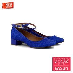 Charme, gliter e saltinho conforto. Tudo de bom! #koquini #sapatilhas #euquero #saltinho Veja mais em: http://koqu.in/1fTInNT