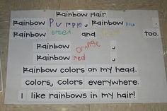 Color Week idea-Rainbow Day!