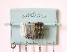 Jewelry Organizer Pick Your Color Ornate Necklace holder Bracelet Bar