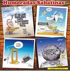 Humoradas Sabatinas de La Tribuna del sábado 11 de enero del 2014
