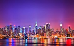 New York By Night - Time-lapse and New York Times Square from car ...