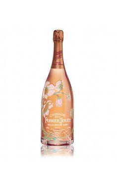 Champagne rosé Perrier Jouët