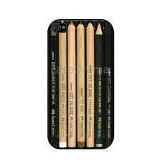 PENCIL iPhone 4 case iPhone 4 case iPhone 4S case by caseOrama, via Etsy.