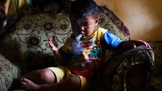 """Five-year-old Ardian Azka Mubarok smokes at his home on March 27, 2015.  Perhaps you'll recall that viral video a few years back of an obese Indonesian toddler chain-smoking cigarettes like a nicotine fiend. Some found it """"funny"""" to see such a young kid puffing away like an old pro. Others were shocked and appalled. I mean, how could a toddler be a chainsmoker?! But the thing is, apparenlty seeing young children smoking is a very common sight in Indonesia and """"public-health activists…"""
