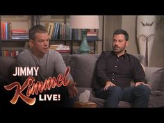 Oh my gosh I love these two so much. Remember when we watched Matt Damon host the show that one night??// Matt Damon and Jimmy Kimmel Attend Couples Counseling to Work Out Their Rivalry—Watch the Video Now! | E! Online