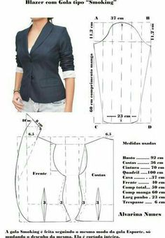 Sewing Patterns - Coat Patterns - Jacket Patterns - Bolero Pattern - Skirt Patterns - Blazer Pattern - Sewing Tutorials - Sewing E-book Coat Patterns, Dress Sewing Patterns, Blouse Patterns, Clothing Patterns, Crochet Patterns, Blazer Pattern, Jacket Pattern, Bolero Pattern, How To Make Clothes