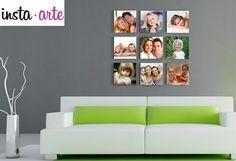 ¡Crea tu propio mosaico con nosotros e imprímelo con las fotos que tú quieras! --> www.insta-arte.com.mx