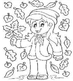 Frunze de toamna de colorat 20 Fise de lucru gradinita is part of Autumn preschool theme - Preschool Coloring Pages, Fall Coloring Pages, Coloring Sheets For Kids, Coloring Pages For Girls, Animal Coloring Pages, Free Printable Coloring Pages, Bullet Journal Halloween, Art And Craft Videos, Fall Projects