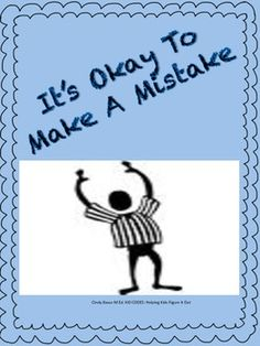 Free:  Social Story: It's Okay to Make Mistakes