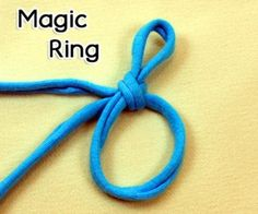 How to Crochet the Magic Ring (adjustable ring, magic circle, magic loop) ༺✿ƬⱤღ✿༻