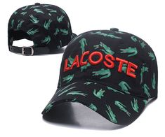 Men's / Women's Lacoste Full Croc Print Letter Embroidery Curved Dad Cap - Black (Copy Ori) Adidas Baseball, Baseball Hats, Lacoste Store, Dad Caps, Nike Golf, Knit Beanie, Crocs, Knitted Hats, Air Jordans