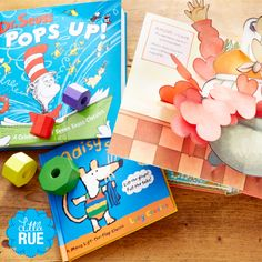Pop Go the Pages: Pop-Up Books by Dr. Seuss & More. #LittleRue