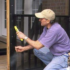Faster Way to Install Porch Screens - This Old House