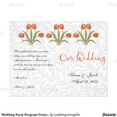Thank You Wedding Stationery Cards  Vintage Tulip Wedding
