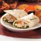 Spicy Buffalo Chicken Wraps...made these tonight and they are awesome!
