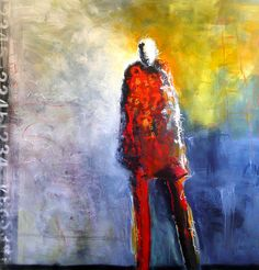 I love the work of Jeanne Bessette.  I find her use of figures and color very moving.