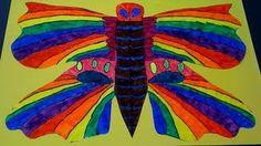 Going to do this when I teach my kids about what symmetrical means next week when we do butterflies. Art Camp, Teaching Math, School Projects, Art Lessons, Butterflies, Art Ideas, My Arts, Science, Kids