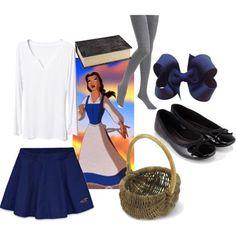 How to dress like a Disney princess ~ Belle