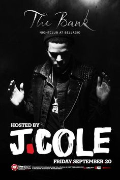 The Bank Nightclub is hosted by J.Cole on Friday September 20th, 2013.  For VIP Tables and Free Guestlist Access contact: ipartyinsincity@gmail.com  #VegasVIP #TheBankNIghtclubVegas #J.Cole #TheBankNightclubVegas #TheBankFreeGuestlistAccess