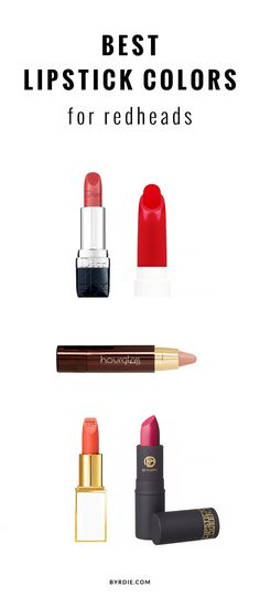 8 expert-approved lip colors for redheads
