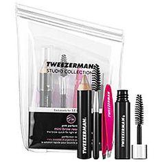 Tweezerman - Hot Pink Mini Brow Rescue Kit  #sephora