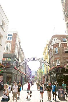 Carnaby Street, Soho, London. Photo by Mark Parren Taylor.