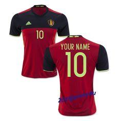 fec11d209 2016 UEFA Euro Belgium Any Name Number Home Soccer Jersey Jason Denayer