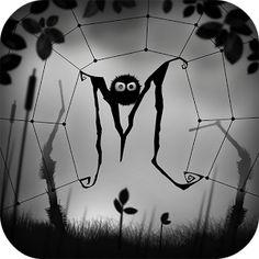 Entrez dans le monde de Miseria où notre héros, Lurk, a été séparé de sa bien aimée par Grunzel, la monstrueuse araignée. Aidez le dans sa quête à travers cet univers étrange. tablette côté cour. Google Play, Cold Hearted, Apps, Applications, Macabre, Spider, Beach, I Like You, Yard