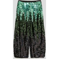 SEQUINNED TROUSERS - NEW IN-WOMAN | ZARA United States (1.595.275 VND) ❤ liked on Polyvore featuring pants