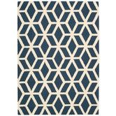 Found it at Wayfair.co.uk - Linear Hand-Loomed Blue Area Rug
