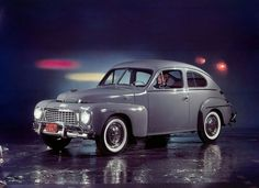 October 20, 1965, the very last PV-series Volvo drives off the assembly line in Lundby, Sweden. The PV-series had been in production since 1947; first as the PV444 and from 1958 as the PV544. It could go from zero to 60 mph in 13 seconds, and got 27 miles per gallon on the highway.