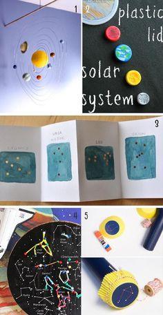 juegos para aprender astronomía con niños Ursa Minor, Gemini And Cancer, Draco, Activities For Kids, Learning, Dragonair