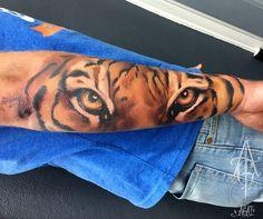One session, abut 5h, hope you like it) tattoo, tattoos, art, tattooartist, artwork, ink, inked, tiger, eyes, sleev tattoos