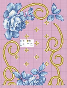 Cross Stitch Pillow, Cross Stitch Rose, Bargello, Table Linens, Embroidery Patterns, Quilts, Blanket, Pillows, Floral