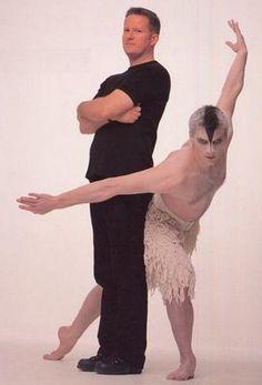 Matthew Bourne; love his all male cast Swan Lake Ballet
