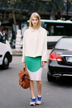 Paris Fashion Week SS 2014....Irina (via Bloglovin.com )