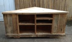 Rustic TV Stand by WoodWorxbyBoz on Etsy