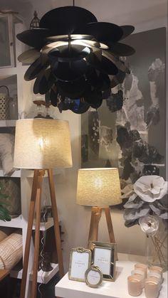 Lighting, Home Decor, Black Lamps, Nordic Style, Homemade Home Decor, Lights, Lightning, Decoration Home, Interior Decorating