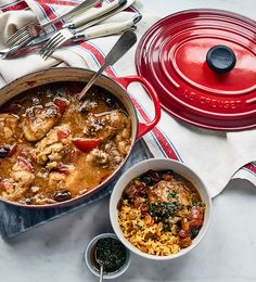 Chermoula gives this Moroccan chicken stew a spicy lift. Serve over yellow ricefor a winter warmer that is both delicious and comforting.