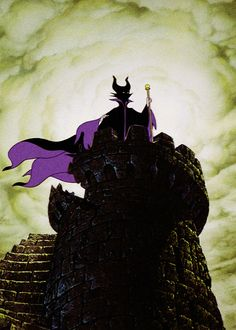 My favorite Disney Villain- Maleficent