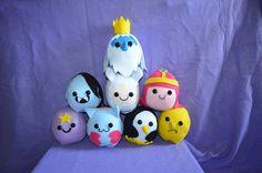Adventure Time Plush Balls