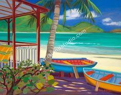 Beach Bums by artist Shari Erickson