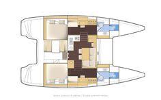 Lagoon 39 Premium   2 cabin / 2 bathroom version