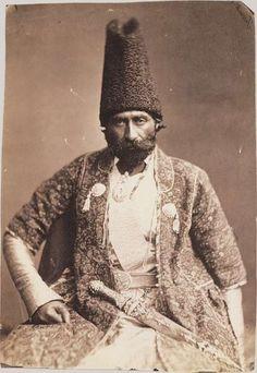 Ferrouck Khan, ambassadeur de Perse, 1857, photo: Félix Tournachon dit Nadar (1820-1910)