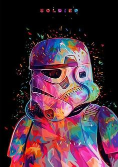 star wars, stormtrooper, and colors afbeelding