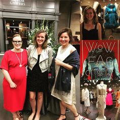 Congratulations @pedmonson and @clestartshere on the opening of #wowfactor and your 150th anniversary! The new exhibit is truly amazing and, yes, I caught myself saying WOW! when we entered the exhibit! Go see it!! Debbie's @byhandlondon #georgiadress and my @grainlinestudio #farrowdress were the perfect ensembles for the evening! However, I am never sewing with slippery fabric again in my life (she said) 😱.georgiadress,wowfactor,farrowdressboltandspool