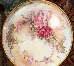 Elegant Findings Antiques has a large selection of hand painted porcelain plaques like KPM, Limoges, Meissen, Delft, etc.