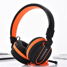 AZ01 Colour Foldable Headband Headset  Video Game Headphone Stereo Super Extra Bass Headphones  Earphone Phone Computer PC Gamer