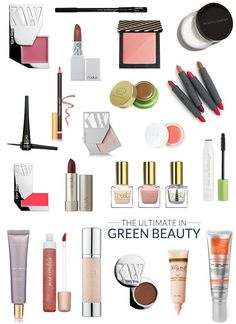 I've been working my way through multitudes of green beauty products over the past few years, and thought it was high time to share my knowledge with you in one (fairly) succinct list. Here's the thing, though. There are so. many. amazing green/natural/organic beauty brands...