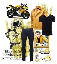 """""""Sam #2"""" by boondock-saint1999 ❤ liked on Polyvore featuring Sebastian Professional, Converse, Brave Soul, Azzaro, Simplex Apparel, Smith & Wesson, Bling Jewelry, Yamaha, men's fashion and menswear"""